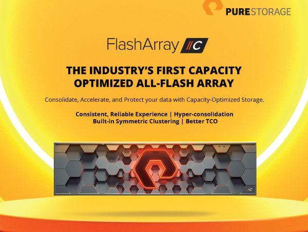 High Capacity Storage by FlashArray//C
